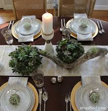 gold and white holiday table setting with target simplified bee blog targetstyle