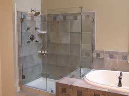 wonderful bath and shower ideas 25 standing tile modern stand up glass design home