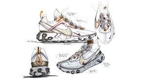 Nike Shoe Design Process Behind The Design React Element 87 Nike Sneakrs Lu