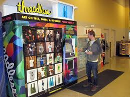 T Shirt Vending Machine Adorable Buy A Threadless TShirt From A Vending Machine Brandingmag