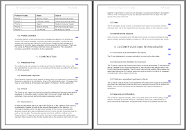 help desk service level agreement template template
