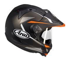 arai tour x4 orange matt helmet