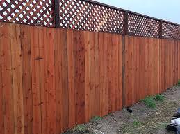 ubi fence redwood nail on