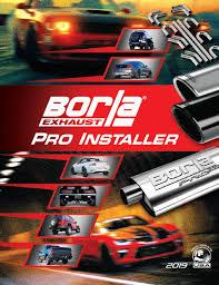 Borla Pro Installer Program Universal Mufflers Accessories