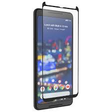 zagg invisibleshield glass curve screen protector for google pixel 2 xl