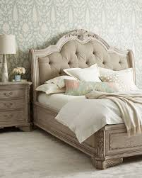 neiman marcus bedroom bath. Popular Candace Rose Camilla Tufted Upholstered King Bed Off White Gray Neiman Marcus Bedroom And Bath I