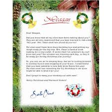 Free Santa Letter Template Microsoft Word Best Photos Of Letters