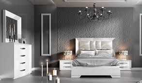 Bedroom Furniture Modern Bedrooms Carmen White