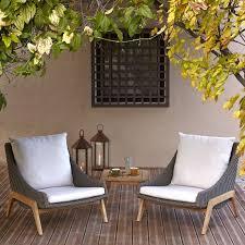 laidback retro garden furniture coffee set rattan effect 2 seater
