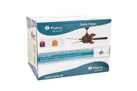 design ceiling fan santa pepeo washed grey without control bild 10