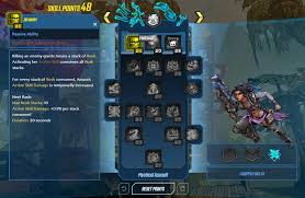 Borderlands 3 Damage Chart Start Building Your Borderlands 3 Character Now With New