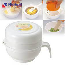 Bộ chế biến ăn dặm kiểu Nhật Richell - 8 món