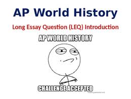 ap world history leq long essay question introduction lesson tpt ap world history leq long essay question introduction lesson