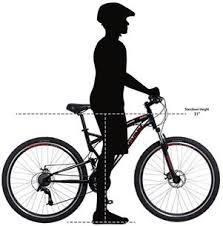 Bicycle Frame Size Chart Hybrid Complete Bike Frame Size Guide Bike Frame Measurement