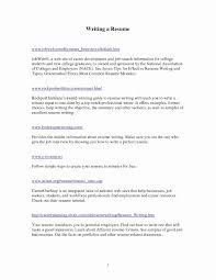 First Job Sample Cv And Guide Salumguilherme