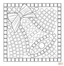 Fresh Free Christmas Mosaic Coloring Pages Download Islamic