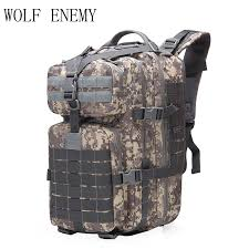 40L <b>Military Tactical Assault Pack</b> Backpack Army 3D Waterproof ...