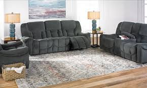 Smoke Power Reclining Sofa