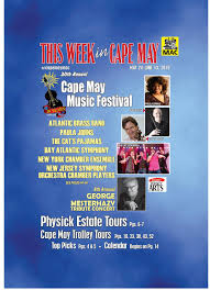 This Week In Cape May May 24 June 13 By This Week In Cape