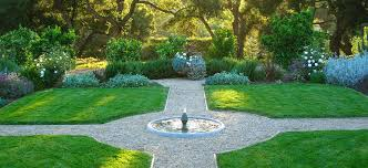 formal garden layout