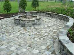 diy paver patio with fire pit a fire pit with surprising building a fire pit with