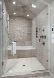 narrow master bathroom designs tub in shower - Google Search