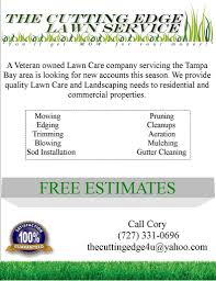 lawncare ad lawn care flyer free template lawn care business marketing tips
