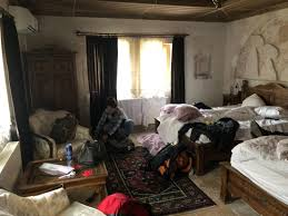 The Mes Very Messy Room But You Can See Thats Big And Very Nice I