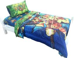 teenage mutant ninja turtles twin full bed comforter time to shell up bedding