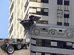 chrysler building gargoyles. chrysler radiator caps and 1929 speedster building gargoyles