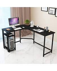 Wood and metal computer desk Design Ideas Dl Furniture Shaped Office Desk Computer Desk Table Personal Working Space Lapdesk Corner Set Amazoncom Amazing Savings On Dl Furniture Shaped Office Desk Computer Desk