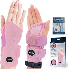 Doctor Developed Fitted Wrist Support/Wrist Strap/Wrist Brace/Hand Support  (Single) & Doctor Written Handbook - Suitable … in 2021 | Wrist brace, Wrist  support, Wrist strap