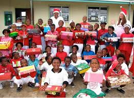 ... wonderful organisation that donates, collects, and distributes  personalised Christmas gifts to underprivileged children across South Africa  and Namibia.