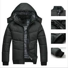 best winter coat men black puffer jacket warm overcoat parka outwear cotton padded hooded down coat for man under 35 33 dhgate com