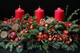 table decorations for christmas. christmas table centerpieces | decorations by london designer florist for s