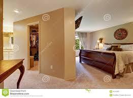 walk in closet bedroom. Spacious Bedroom Interior With Walk In Closet Z