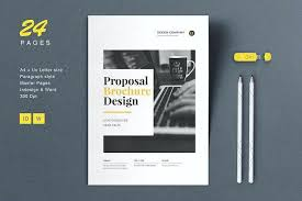 Free Tri Fold Brochure Templates Word Best Proposal Brochure Layout Word Tri Fold Template 48 Design