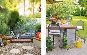 ... Interesting Design For Kid Backyard Landscape : Surprising Kid Backyard  Landscape Design Ideas With Pebble Garden ...