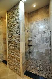 stone shower walls stacked stone shower tile decoration with ledge stone decorate bathroom with ledge faux stone panels for shower walls