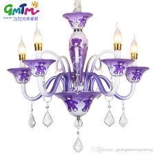 gmtm lighting suppliers special offer creative cartoon bear purple pink blue chandeliers hanging lamps for little boy kitchen chandelier beaded chandelier
