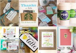 Next on the list for valentine's day coffee gift ideas are coffee gift baskets. 10 Free Printable Coffee Gifts For Teacher Appreciation