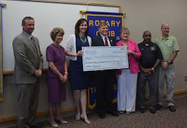 donation to help rotary build splash pad playground once completed the city of clarksville will maintain the playground and splash pad
