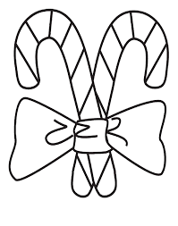 Small Picture Candy Cane Coloring Pages For Kids Coloring Home