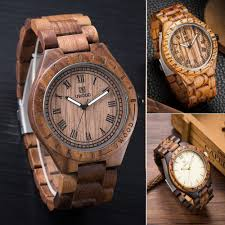 custom made watches promotion shop for promotional custom made natural watch men women made from real wood watch wooden band lovers luxury wood customed watch as christmas gifts