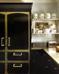 Kitchen Cabinet Backsplash Delectable 48 Black Kitchens Black Cabinet And Backsplash Ideas