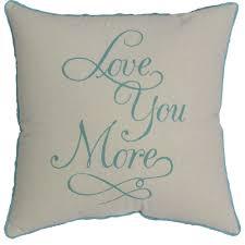 Mainstays Love You More Pillow - Walmart.com