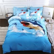 medusa 3d sharks hot children bedding set king queen full single size duvet cover set cool duvet covers striped bedding from paa 44 85 dhgate com