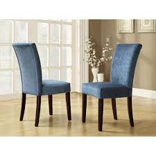 furniture elegant royal blue parson dining chairs for your home intended decor 19
