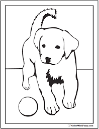 They're so cute and cuddly and fun. 35 Dog Coloring Pages Breeds Bones And Dog Houses
