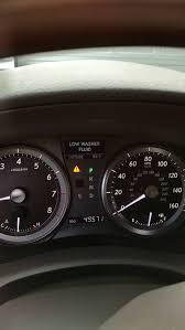 Low Washer Fluid Warning Light Lexus Low Washer Fluid Light Stays On Clublexus Lexus Forum